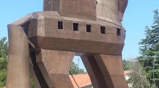 トロイの木馬!トルコ世界遺産