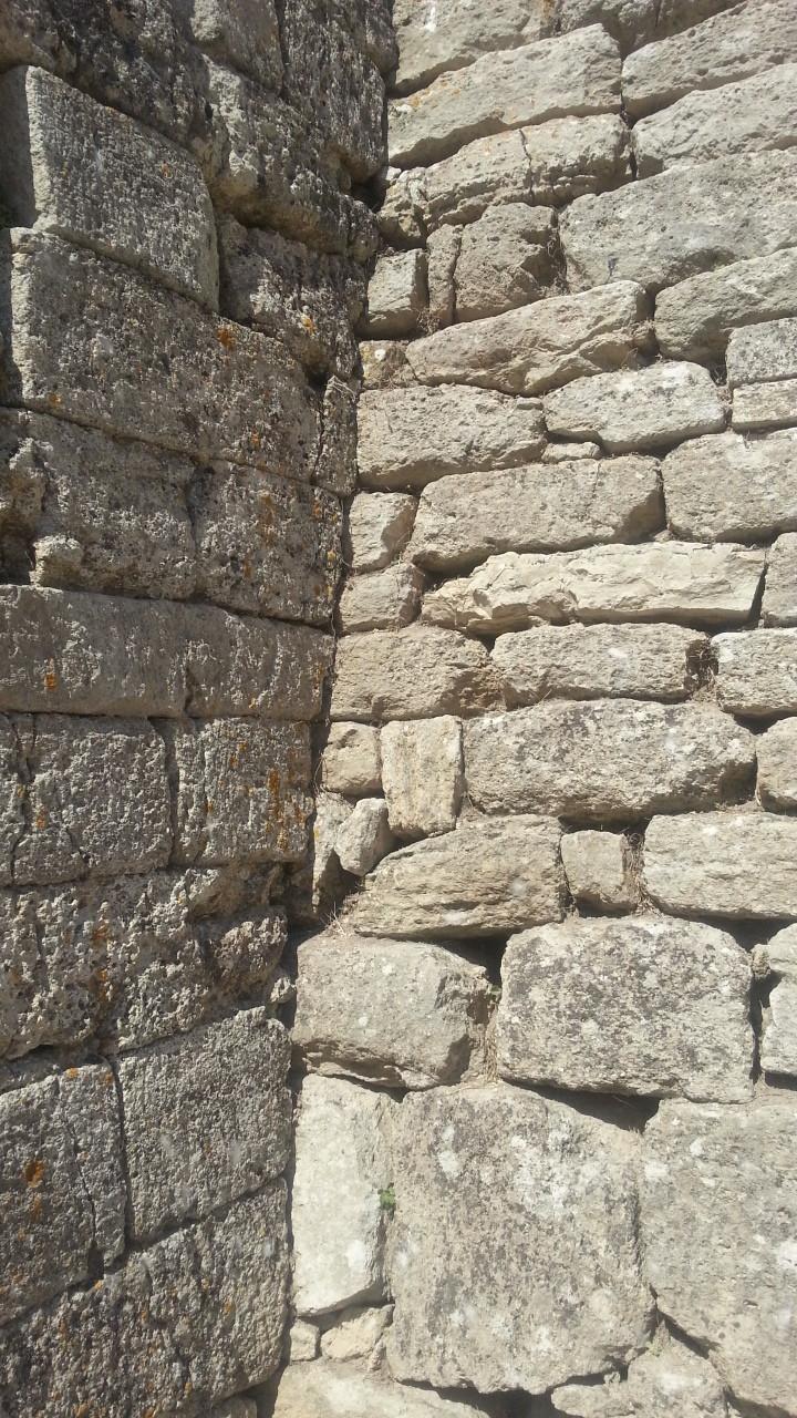 トルコのトロイ遺跡